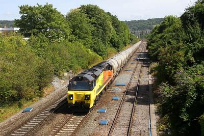 70815 Oldfield Park 07/08/18 6C36 Westbury to Aberthaw Cement Works