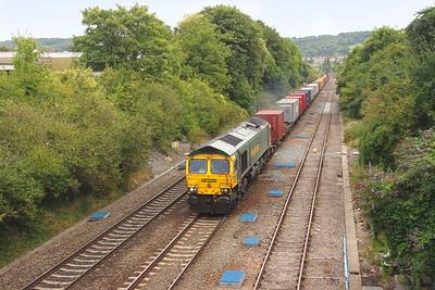 66585 Oldfield Park 21/08/18 4V31 London Gateway to Bristol