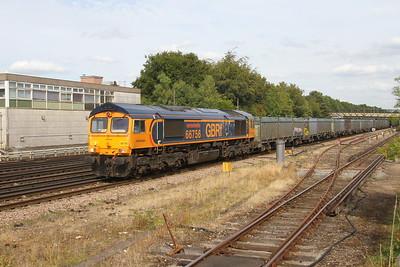 66756 Basingstoke 30/08/18 4Y19 Mountfield to Southampton Western Docks