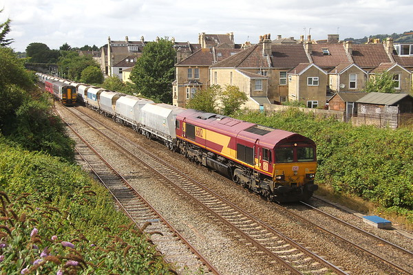 66112 Oldfield Park 17/08/18 6A83 Avonmouth to West Drayton
