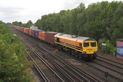 66413 Worting Junction 08/08/18 4M98 Southampton to Garston