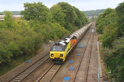70815 Oldfield Park 21/08/18 6C36 Westbury to Aberthaw Cement Works