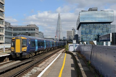 15 August 2018 :: 375 807 pulls away from Waterloo East with 1H48, the 1545 from Charing Cross to Hastings