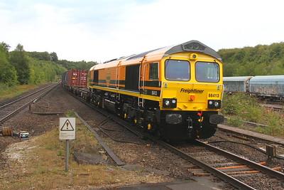 66413 Micheldever 09/08/18 4O14 Garston to Southampton