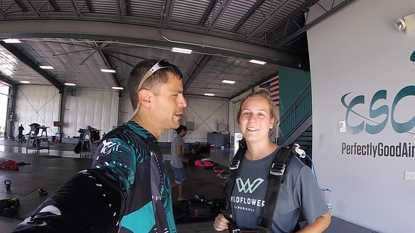 1721 Nikol Blinov	 Skydive at Chicagoland Skydiving Center 20180808 Nacho Nacho