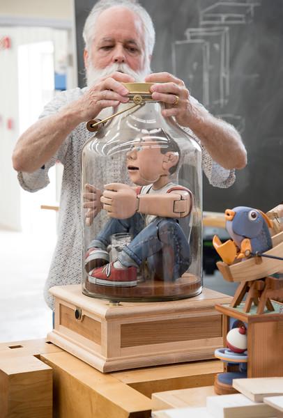 Automata: Storytelling through Animated Wood with John Morgan