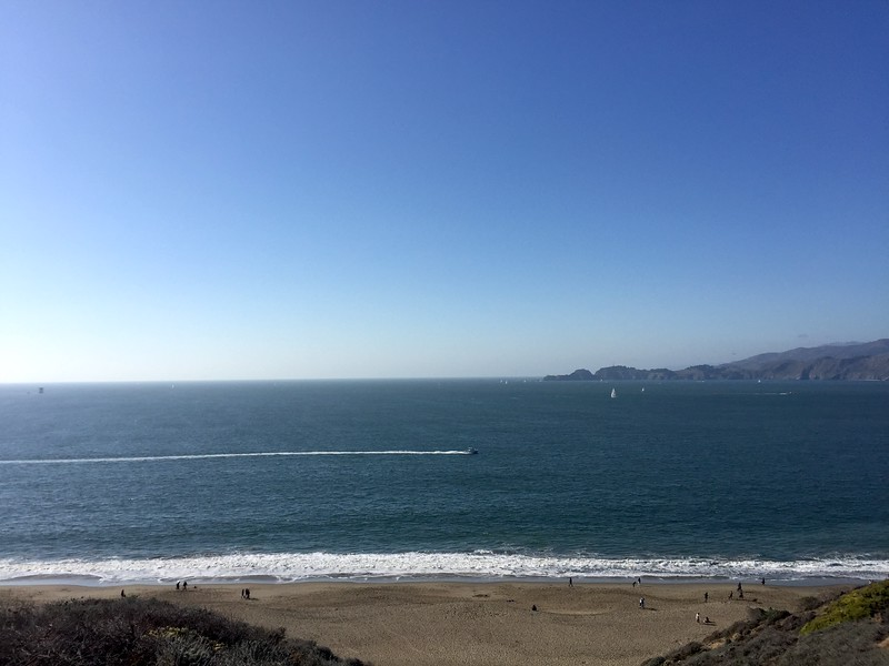<b>Baker Beach</b> <br>San Francisco, CA <br>October 21, 2018
