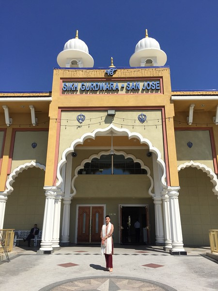 <b>Sikh Gurdwara Sahib</b> <br>San Jose, CA <br>August 31, 2018