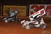 Kevin Gobrecht Classic - BAPS Motor Speedway - 51 Freddie Rahmer Jr., 21 Brian Montieth