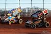 BAPS Motor Speedway - 69k Lance Dewease, 87 Aaron Reutzel