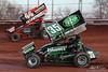 BAPS Motor Speedway - 35 Tyler Esh, 44 Trey Starks
