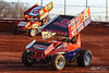 BAPS Motor Speedway - 39M Anthony Macri, 48 Danny Dietrich