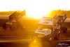BAPS Motor Speedway - 24 Lucas Wolfe, 44 Trey Starks, 5 Tyler Ross