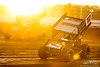 BAPS Motor Speedway - 87 Aaron Reutzel, 99M Kyle Moody