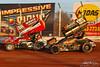 BAPS Motor Speedway - 48 Danny Dietrich, 99M Kyle Moody