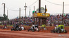 Capital Renegade Showdown - USAC National Sprint Car Championship - BAPS Motor Speedway - ARDC start