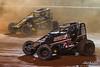 Capital Renegade Showdown - USAC National Sprint Car Championship - BAPS Motor Speedway - 4 Justin Grant; 30 CJ Leary