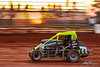 Capital Renegade Showdown - USAC National Sprint Car Championship - BAPS Motor Speedway - 77 Alex Bright