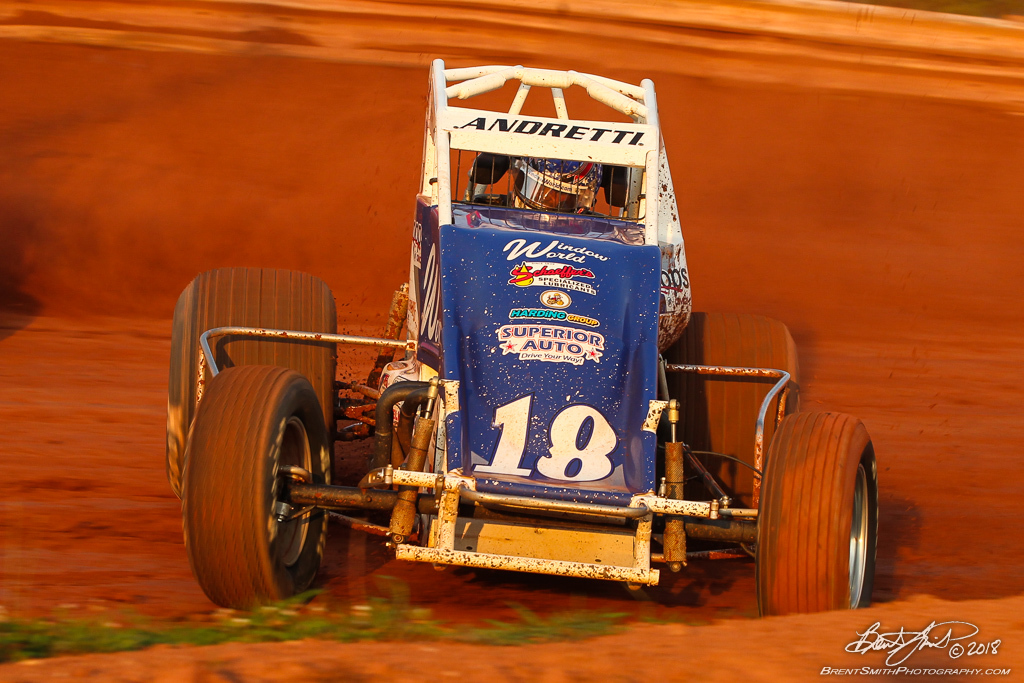 Capital Renegade Showdown - USAC National Sprint Car Championship - BAPS Motor Speedway - 18 Jarett Andretti