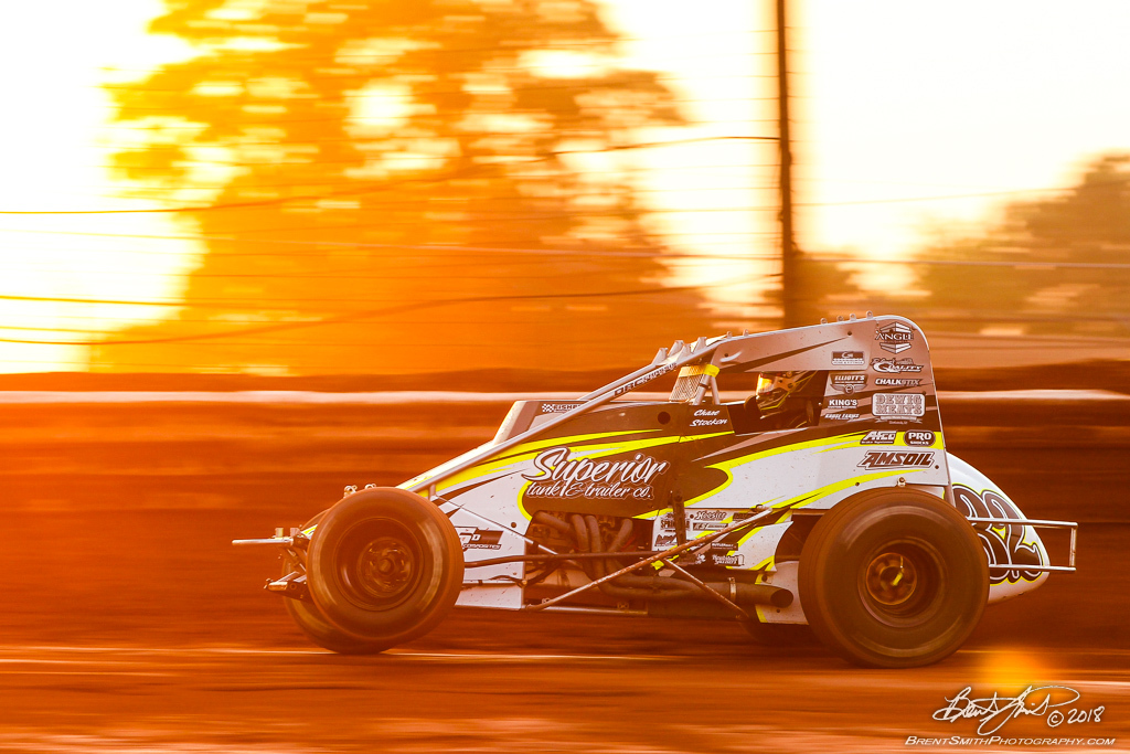 Capital Renegade Showdown - USAC National Sprint Car Championship - BAPS Motor Speedway - 32 Chase Stockon