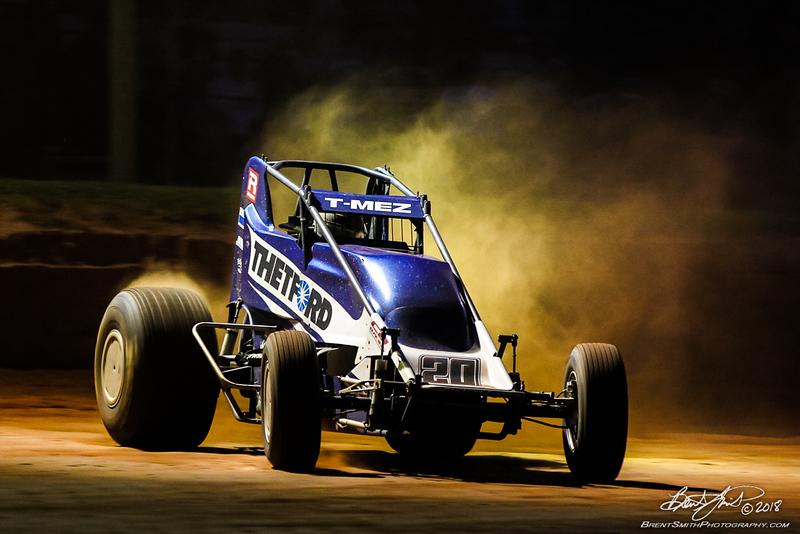 Capital Renegade Showdown - USAC National Sprint Car Championship - BAPS Motor Speedway - 20 Thomas Meseraull