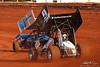 Capital Renegade Showdown - USAC National Sprint Car Championship - BAPS Motor Speedway - 9 Dalton Dietrich
