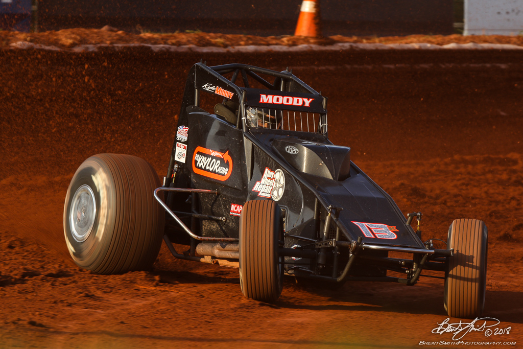 Capital Renegade Showdown - USAC National Sprint Car Championship - BAPS Motor Speedway - 13K Kyle Moody