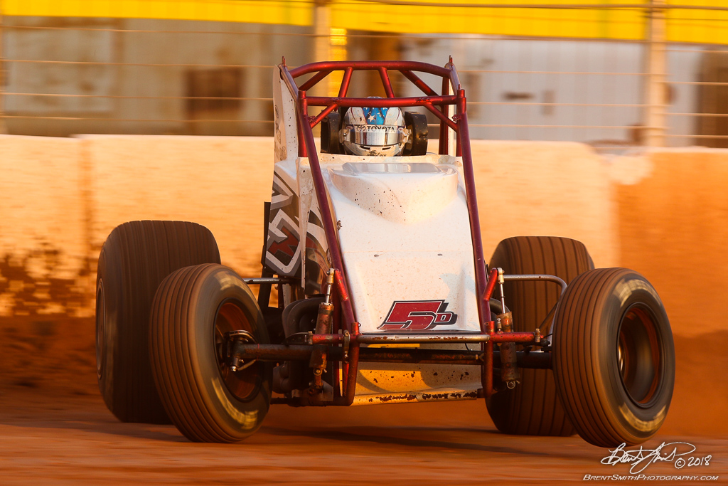 Capital Renegade Showdown - USAC National Sprint Car Championship - BAPS Motor Speedway - 5D Zach Daum