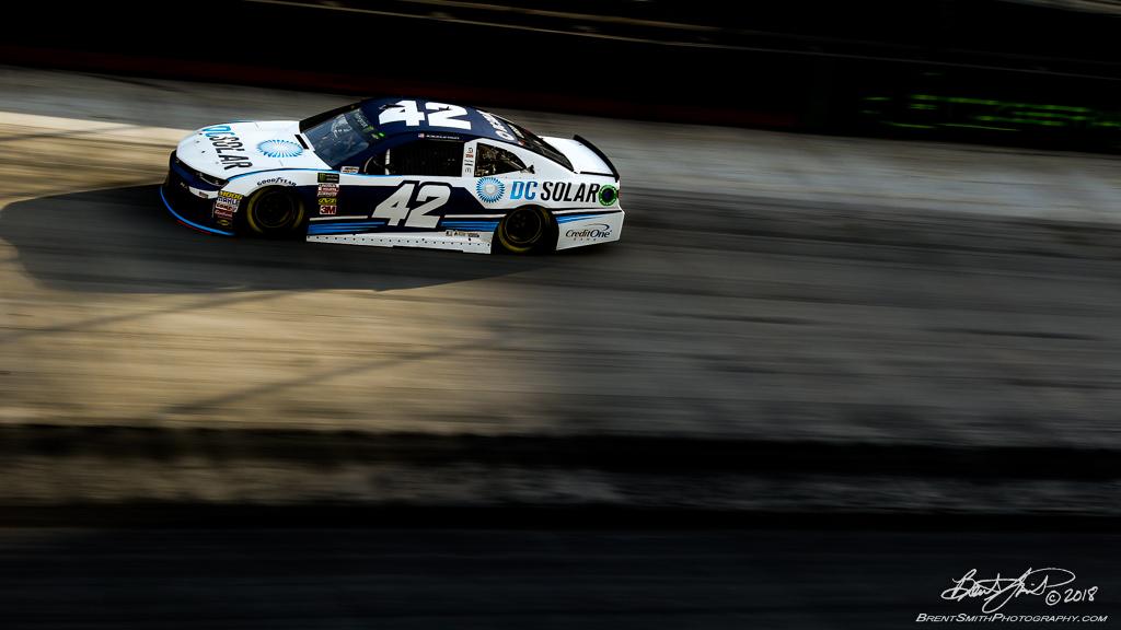 Bass Pro Shops NRA Night Race - Monster Energy NASCAR Cup Series - Bristol Motor Speedway - 42 Kyle Larson, DC Solar Chevrolet