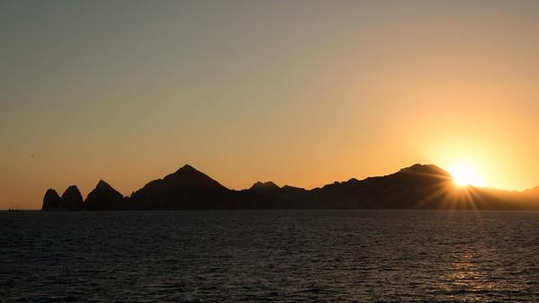 Sunset over Cabo San Lucas