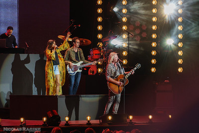 Karen Fairchild et Phillip Sweet; Little Big Town; Bandwagon Tour; Budweiser Stage in Toronto