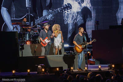 Kimberly Schlapman et Jimi Westbrook; Little Big Town; Bandwagon Tour; Budweiser Stage in Toronto
