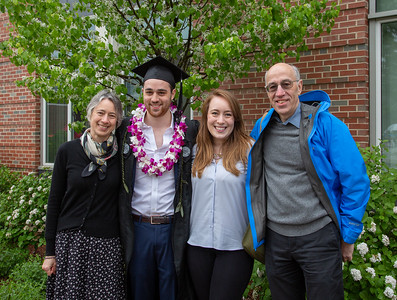Benjamin's WPI Graduation, 12 May 2018
