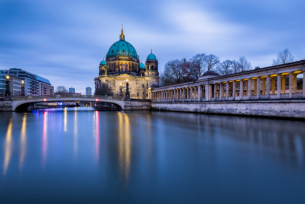Berlin Cathedral at sunrise
