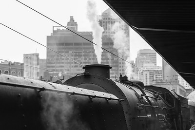 "Steam in the City - ""The Garret"" in Steam at Central Station (June 2018)"