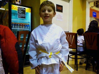 Boys Black Belt Test 3-25-18