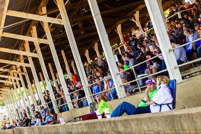 Brownstown Speedway grandstands