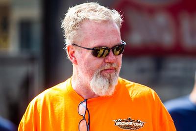 Brownstown Speedway promoter Jim Price