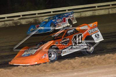 Kyle Bronson (40B) and Brandon Sheppard (1)