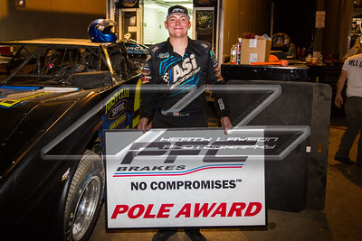 PFC Brakes Pole Award winner Tyler Erb