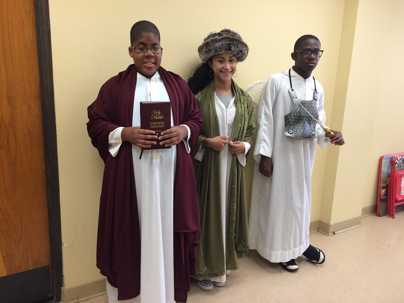 8:30 Mass on Sunday, November 4, 2018  Luke Washington, 7th grade, St. Luke  Angelle Brown, 10th grade, St. Damian  Michael Sander III, 8th grade, St. Michael the Archangel