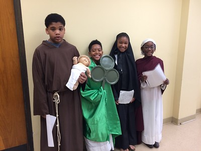10:30 Mass on Sunday, November 4, 2018  Blake Casimere, 6th grade, St. Anthony of Padua  Bryan Ancar, 5th grade, St. Patrick  Chayse Collins, 4th grade, St. Zita  Kacidy Washington, 3rd Grade, St. Lea of Rome