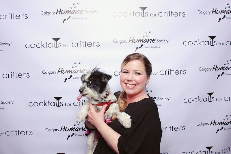 Calgary Humane Society Cocktails for Critters 2018 - sillybooth