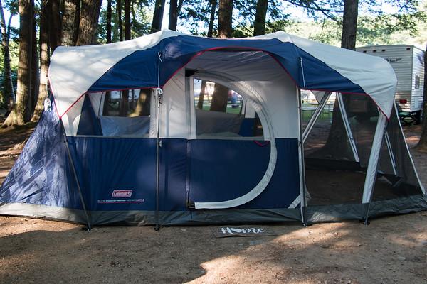 Camping at KOA-Lincoln/Woodstock