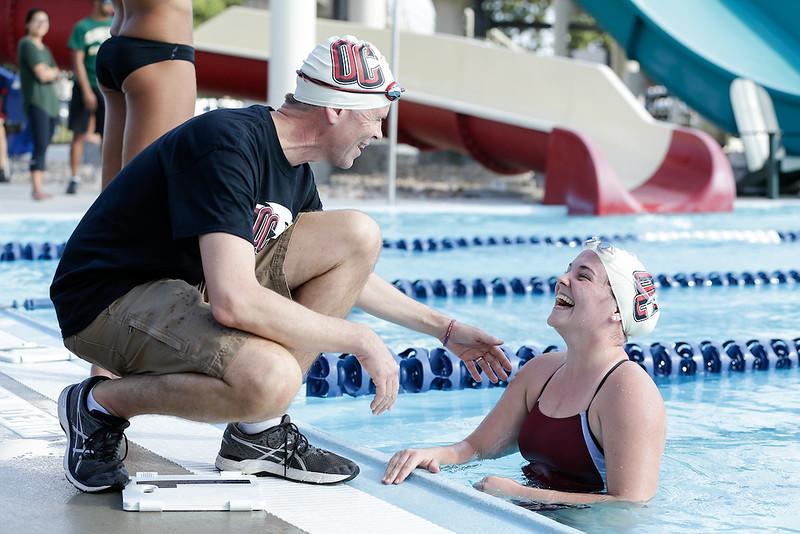 NCAA Swimming: Sep 22 Eagles at Shawnee Invitational