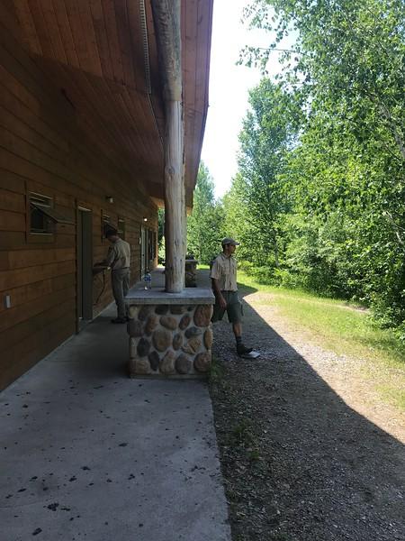 2018 Canoe Base - Canada