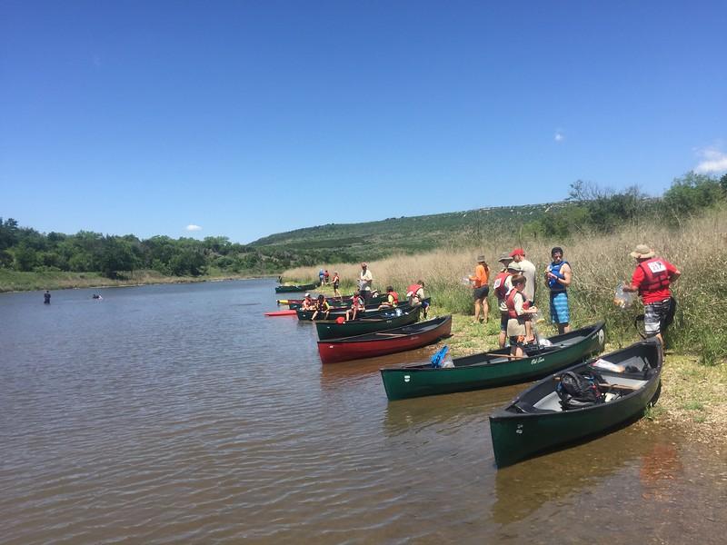 2018 Canoeing - Worth Ranch