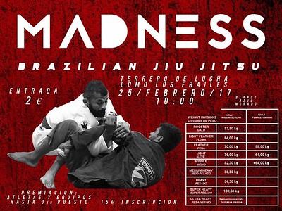 02-25 FEBRERO 2017 madness brazilian jiu jitsu