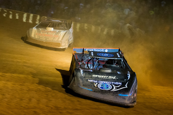 Scott Bloomquist (0) and Brandon Overton (76)