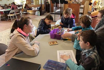 Church School: Older Children Teach Classes